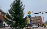 Grote kerstboom voor vele wensen…