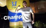 Tom Heijmer verrast op 31e verjaardag
