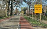Nieuw asfalt op kruising Diepenheimseweg-Kevelhamlaan