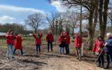 PvdA Hof van Twente zaait klaprozen bij Stadslandbouw