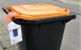 Controle op inhoud oranje containers